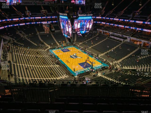 Spectrum Center Section 220 view