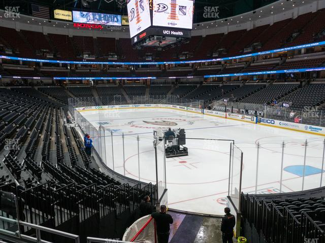 Honda Center Section 217 view