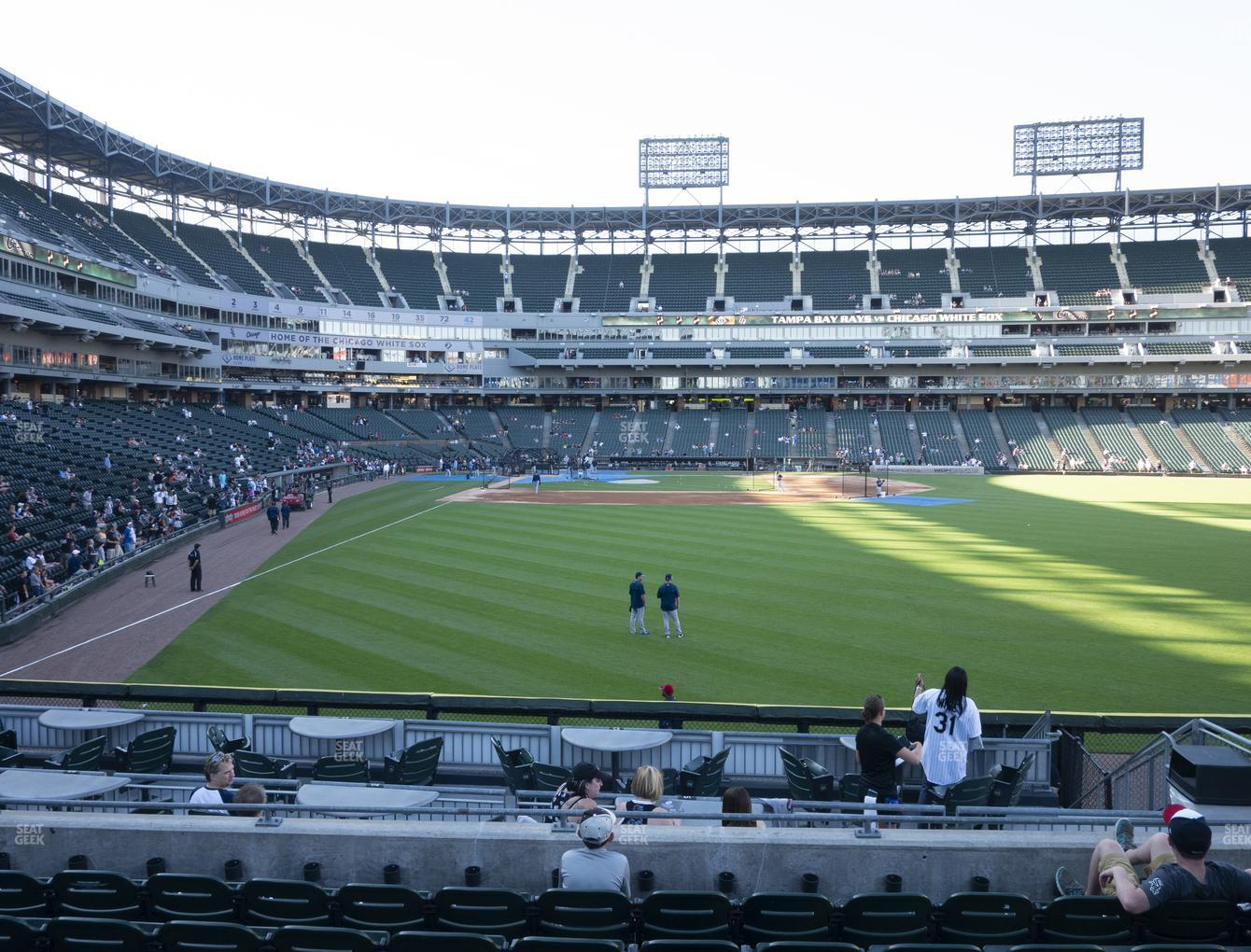 Chicago White Sox at Guaranteed Rate Field Section 106 View