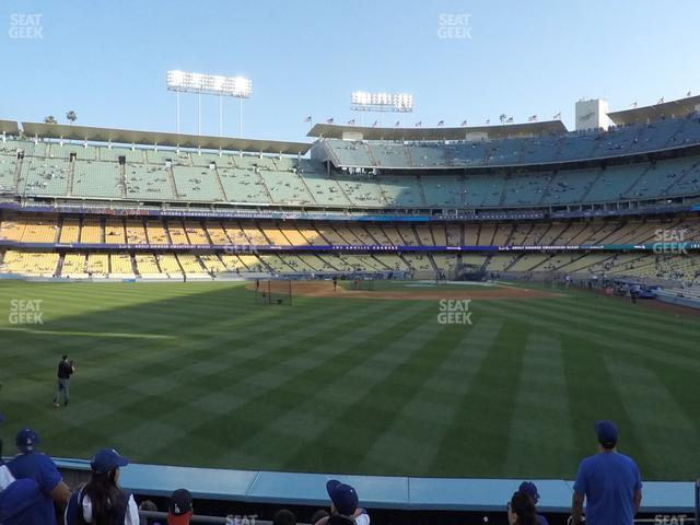 Dodger Stadium Left Field Pavilion 305 view