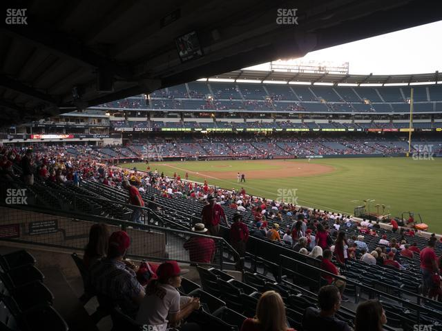 Angel Stadium of Anaheim Section 229 view