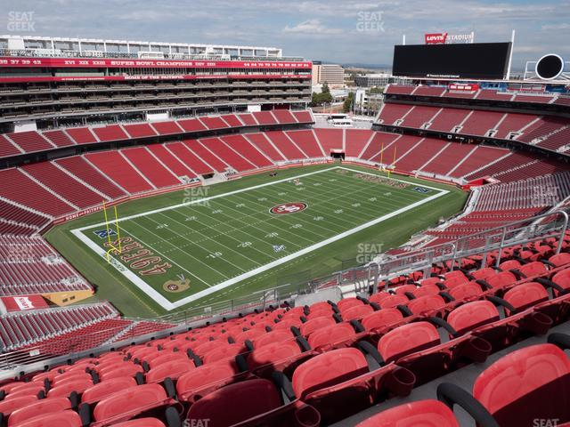 Levi's Stadium Section 418 view