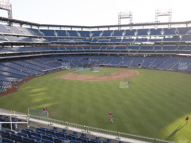 Citizens Bank Park Section 201 view
