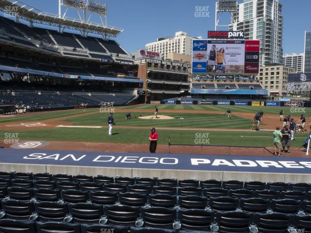 Petco Park Section 107 view