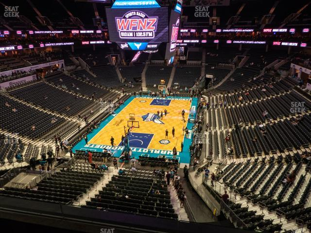 Spectrum Center Section 216 view