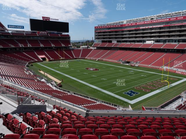 Levi's Stadium Section 208 view