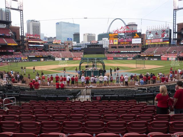 Busch Stadium Home Field Box 150 view