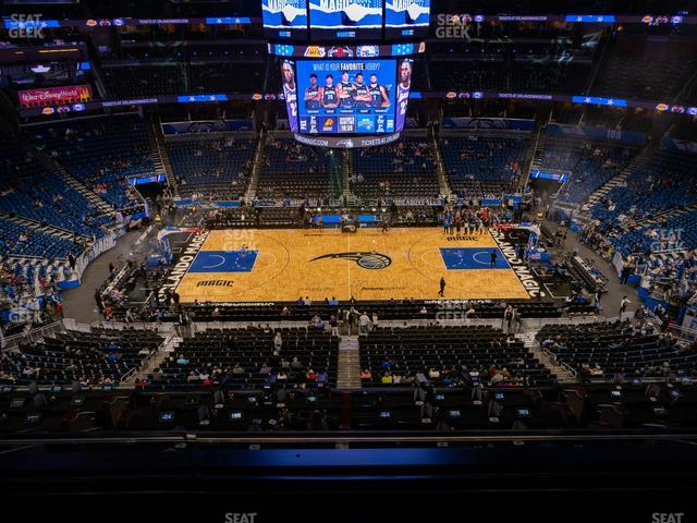 Amway Center Section 225 view
