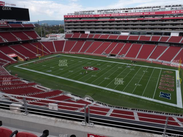 Levi's Stadium Section 311 view