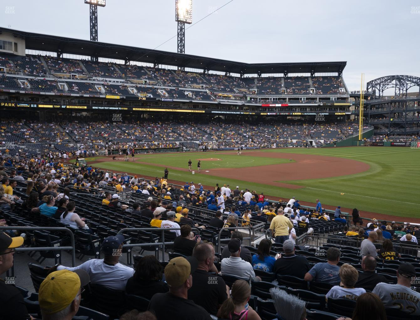 Pittsburgh Pirates at PNC Park Section 105 View