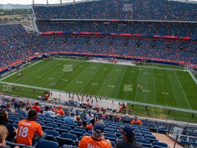 Empower Field at Mile High Section 532 view