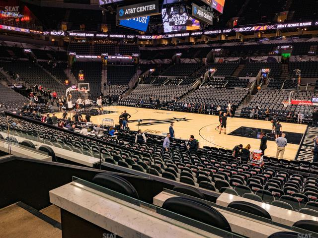 AT&T Center Box 9 view