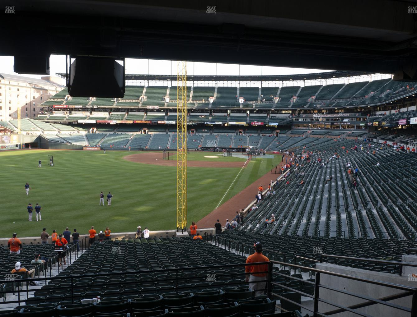 Baltimore Orioles at Oriole Park at Camden Yards Section 77 View