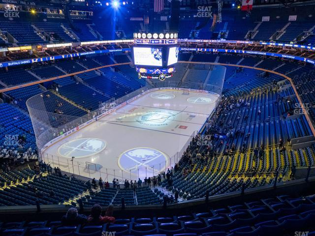 KeyBank Center Section 311 view