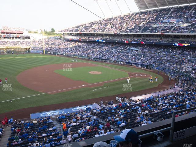Kauffman Stadium Section 303 view