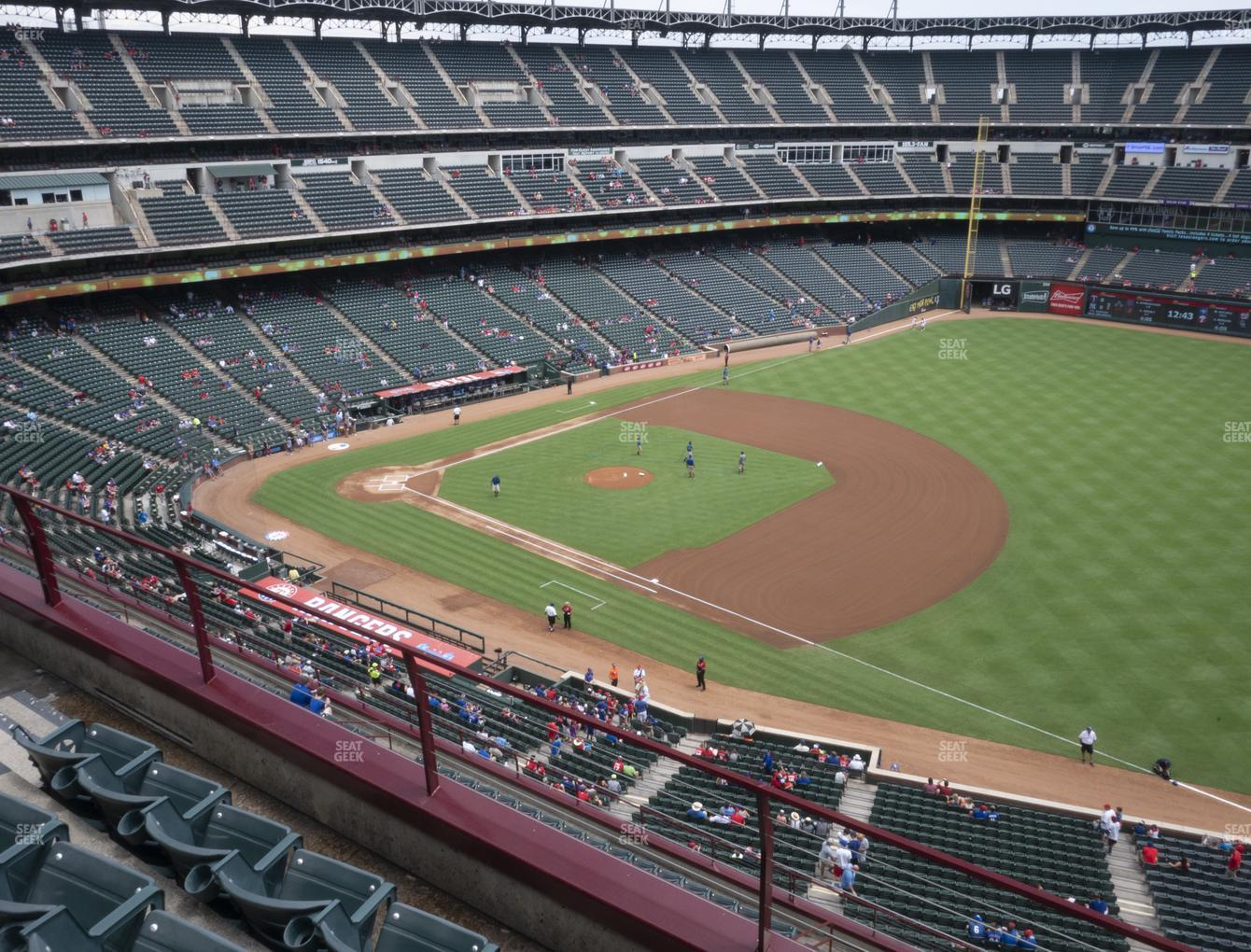 Concert at Globe Life Park Section 337 View