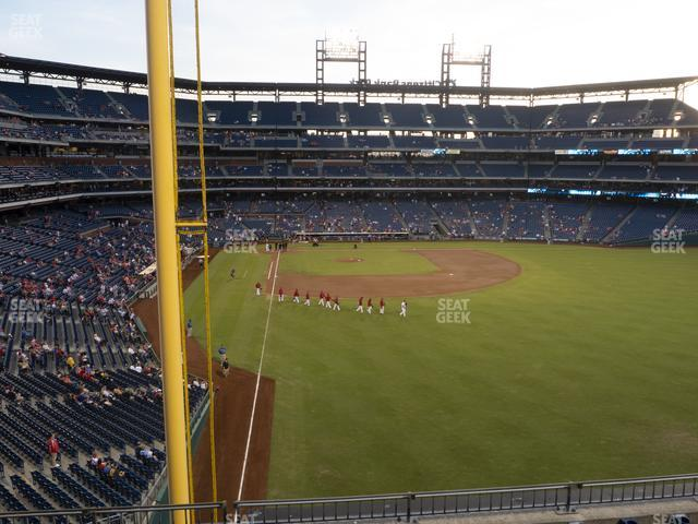 Citizens Bank Park Section 205 view