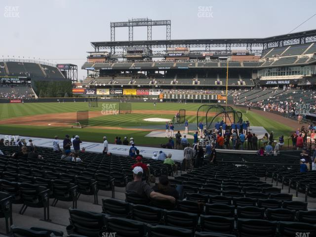 Coors Field Section 135 view