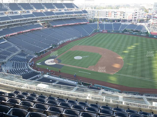 Nationals Park Section 420 view