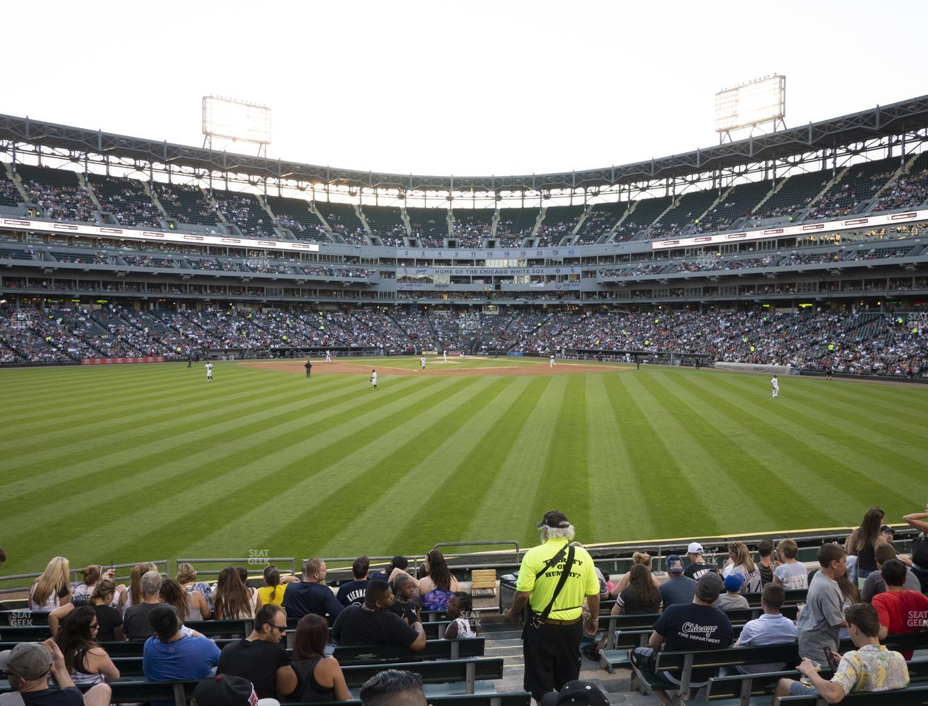 Chicago White Sox at Guaranteed Rate Field Section 164 View