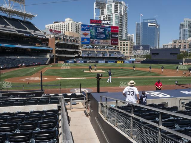 Petco Park Section 105 view