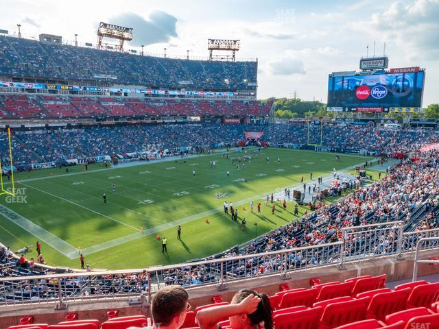 Nissan Stadium Section 219 view