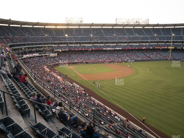 Angel Stadium of Anaheim Section 432 view