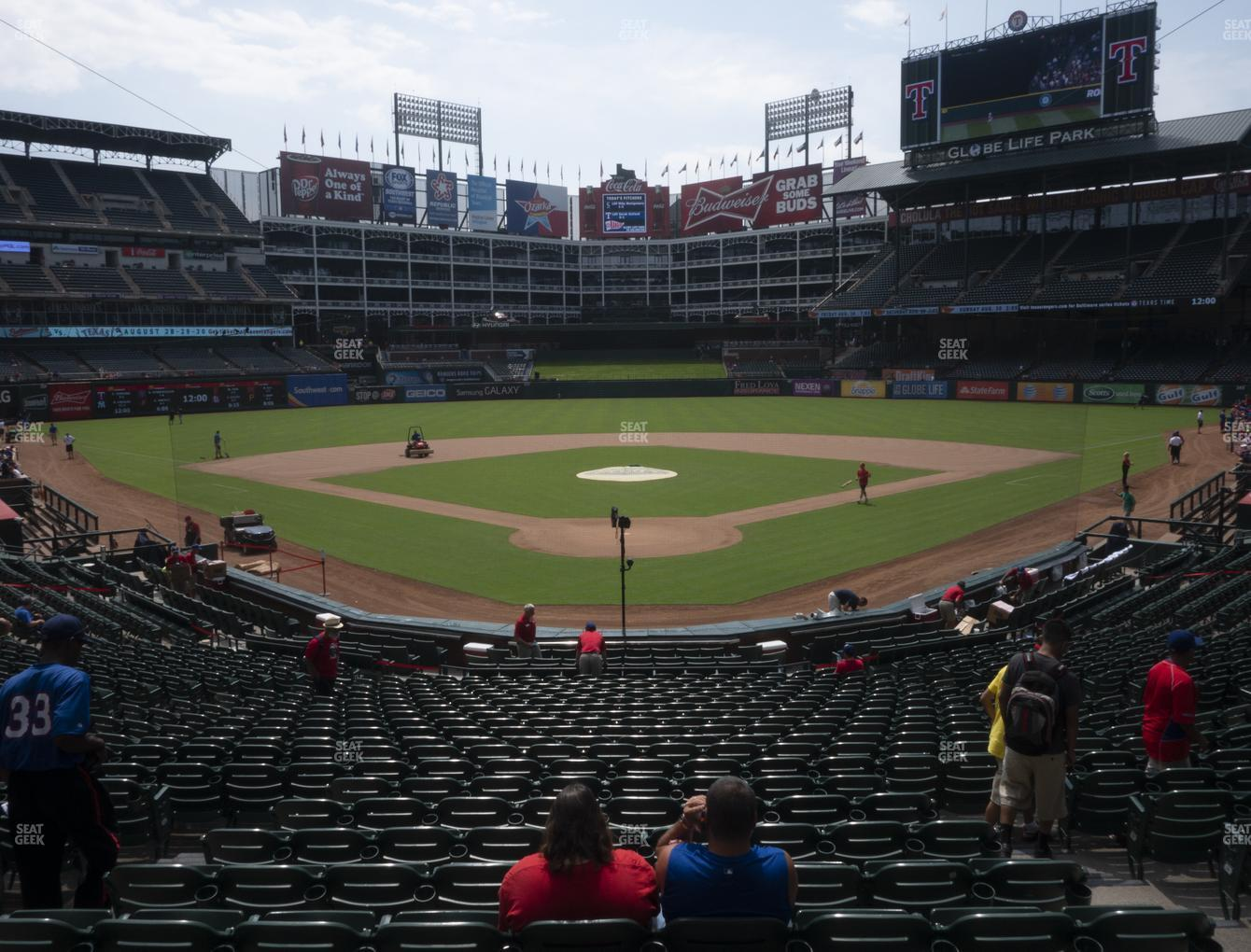 International Champions Cup at Globe Life Park Section 26 View
