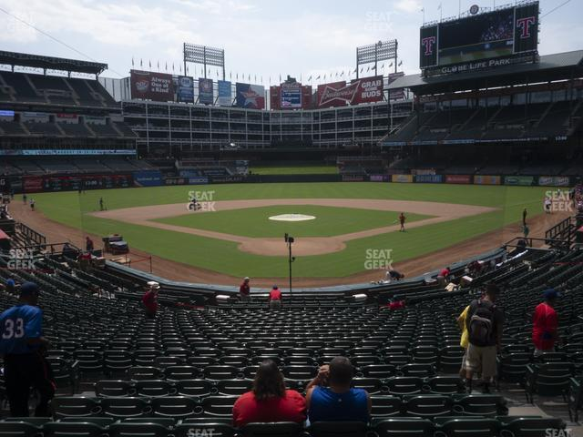 Globe Life Park Section 26 view