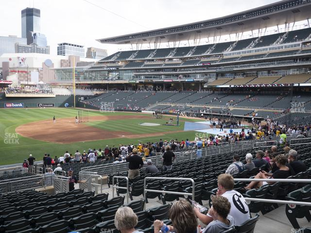 Target Field Section 122 view