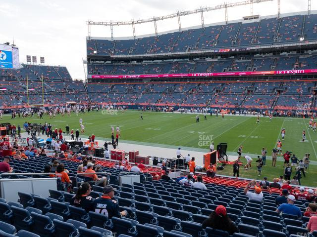 Empower Field at Mile High Section 121 view