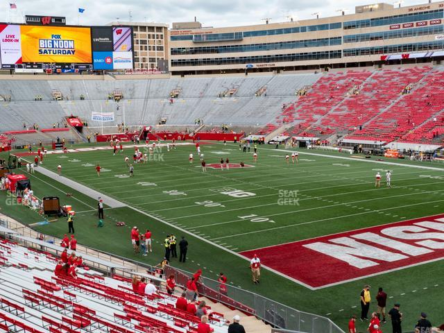 Camp Randall Stadium Section Z 1 view