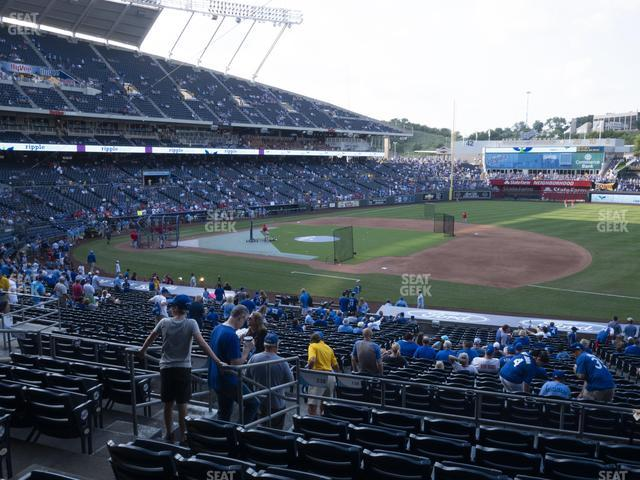 Kauffman Stadium Section 238 view