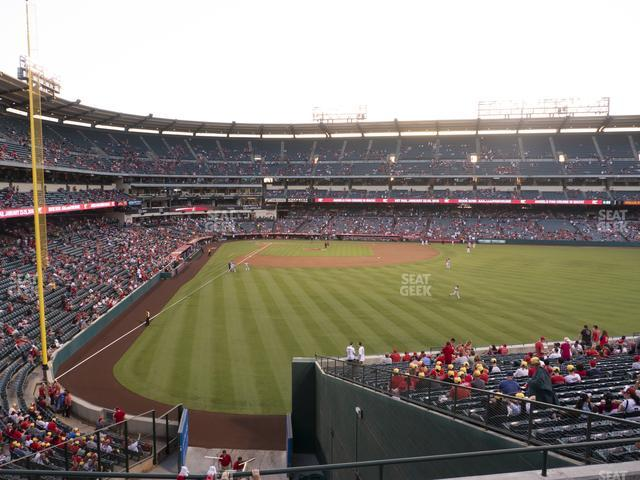 Angel Stadium of Anaheim Section 243 view