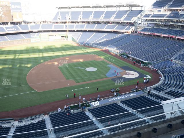 Nationals Park Section 307 view