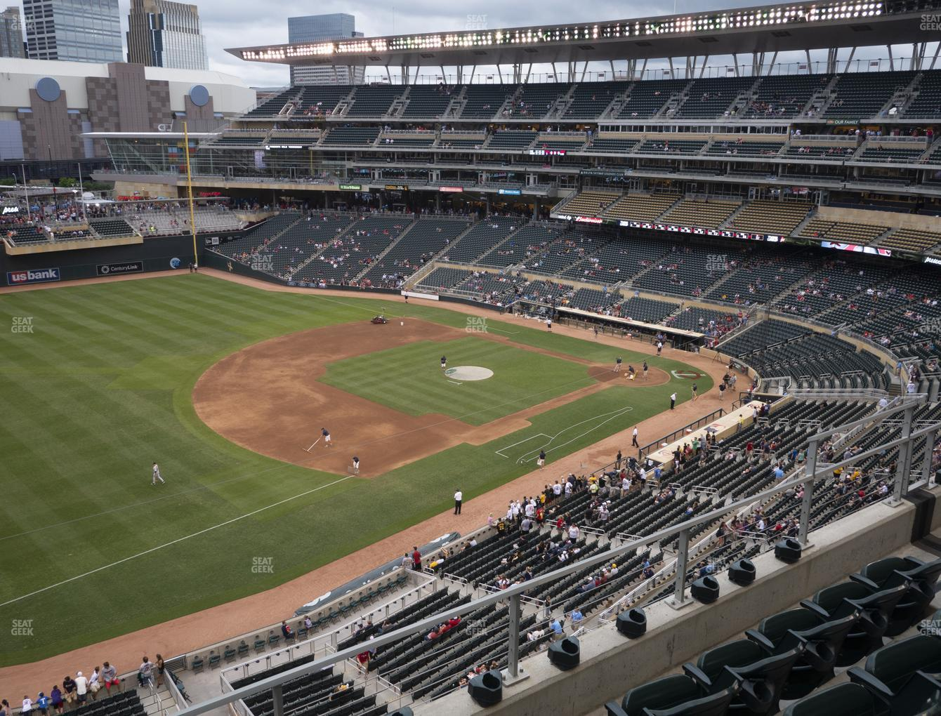 Minnesota Twins at Target Field Section 225 View