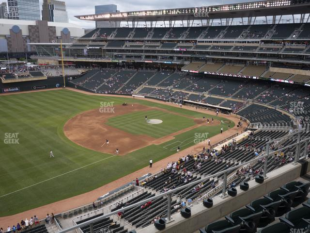 Target Field Section 225 view