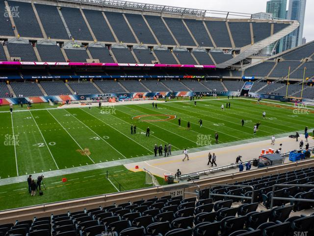 Soldier Field Section 212 view