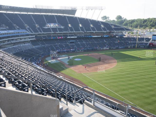 Kauffman Stadium Section 439 view