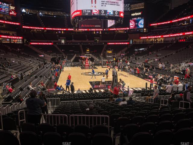 State Farm Arena Section 103 view