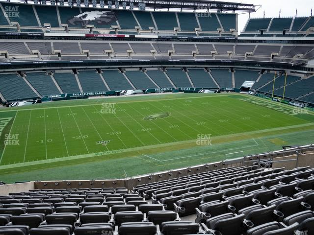 Lincoln Financial Field Section C 38 view