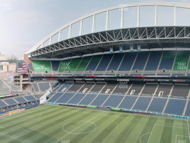 CenturyLink Field Upper 331 view