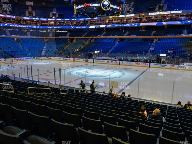 KeyBank Center Section 116 view
