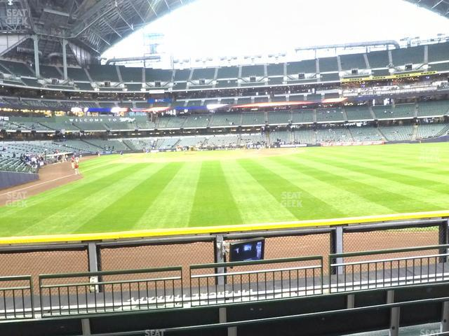 Miller Park Section 103 view