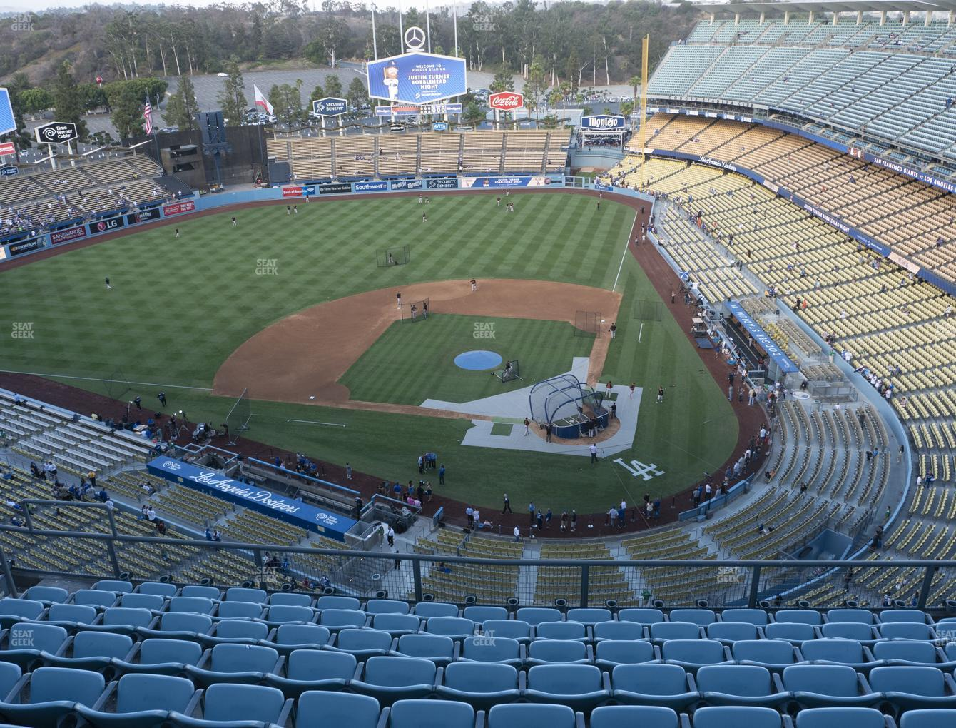 Dodger Stadium Top Deck 9 Seat Views Seatgeek