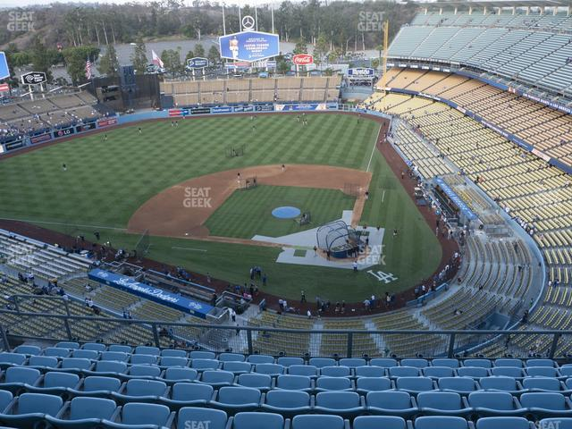 Dodger Stadium Section Top Deck 9 view