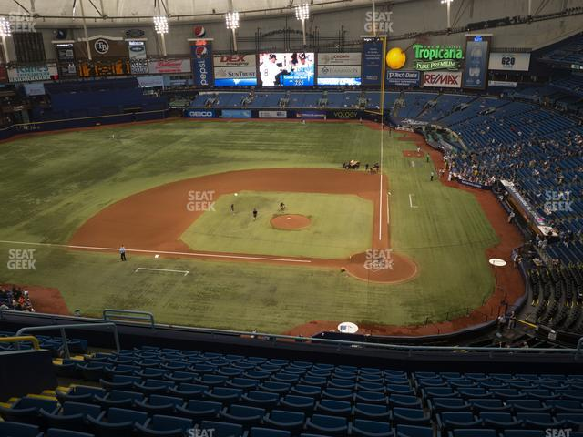 Tropicana Field Section 307 view