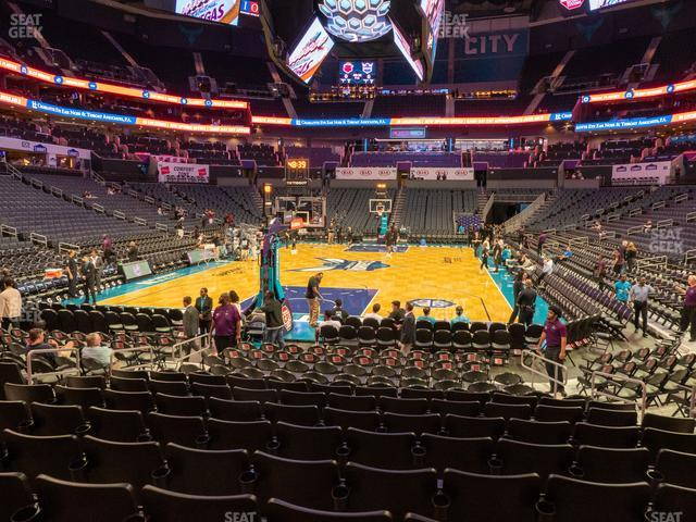 Spectrum Center Section 117 view