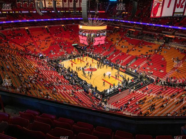 American Airlines Arena Section 409 view
