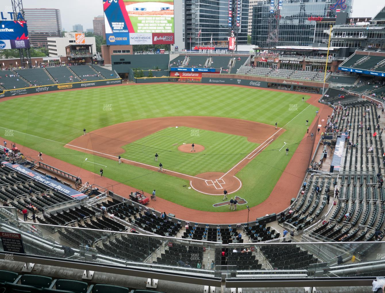 Truist Park Section 327 Seat Views